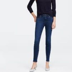 ANN TAYLOR The Skinny Modern Fit Jeans 8 EUC